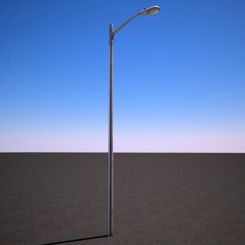 3d model of street light