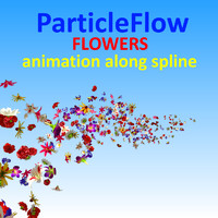 max flowers animation spline