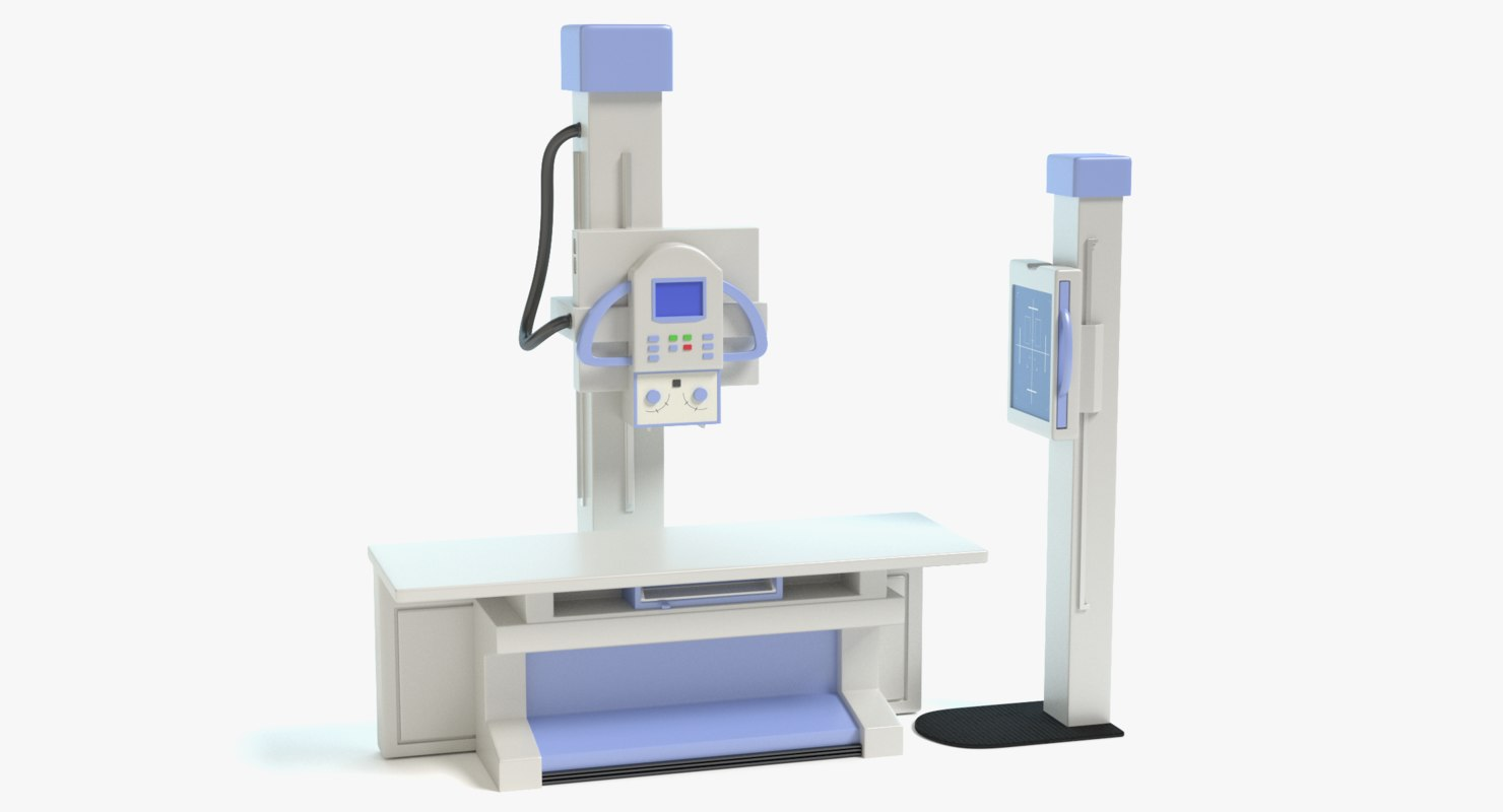 3d model x-ray machine