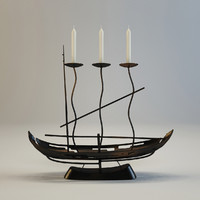 forging candlestik-ship