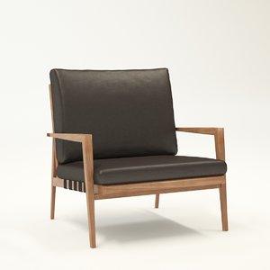 chair blava 3ds
