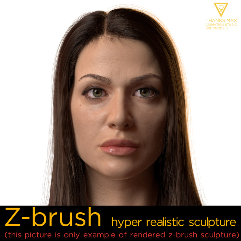emily hyper realistic female 3d model