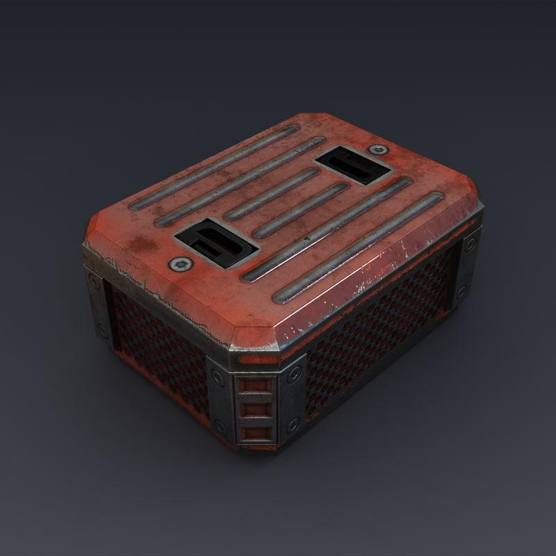 3d max chest