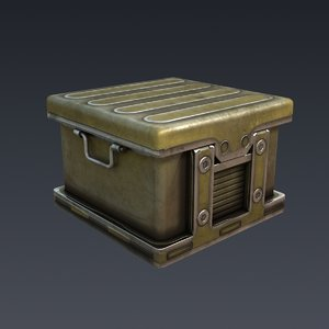 case military 3d model