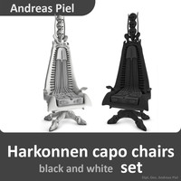 3d set harkonnen capo chair model