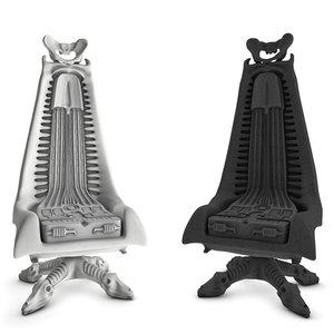 set harkonnen chair 3d model