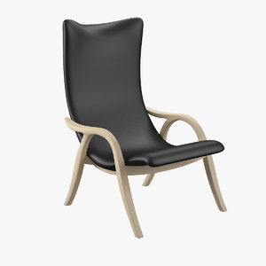 frits henningsen signature chair 3ds