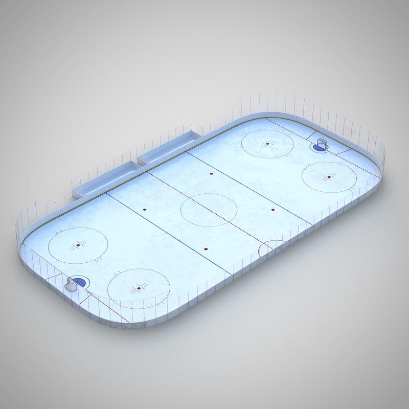 hockey rink 3d 3ds
