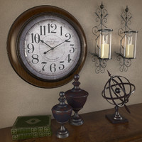 decor interior vintage 3d model