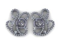 diamond earring 3d 3dm
