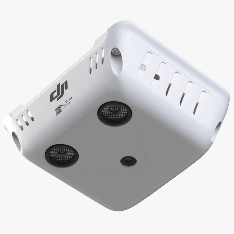 quadcopter phantom 3 vision 3d 3ds