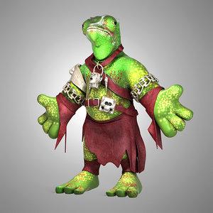 3d chameleon model