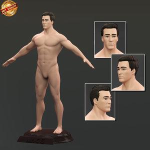 maya flow male anatomy