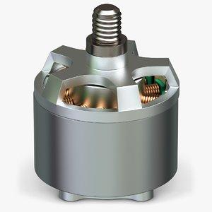 phantom 3 propulsion dc motor 3d max
