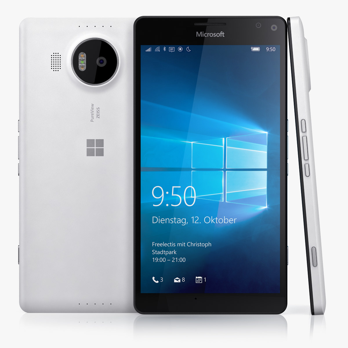 microsoft lumia 950 xl 3d 3ds