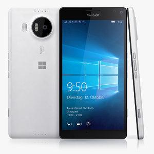 microsoft lumia 950 xl 3d 3ds