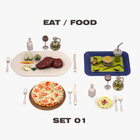 eat food set max