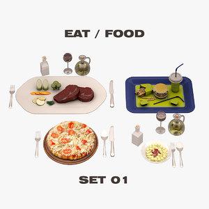 eat food set max