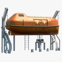 lifeboat 3D models