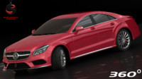 Mercedes-Benz CLS 2015 (Low Interior)
