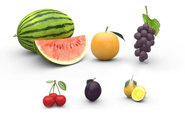 max fruits cherry plum
