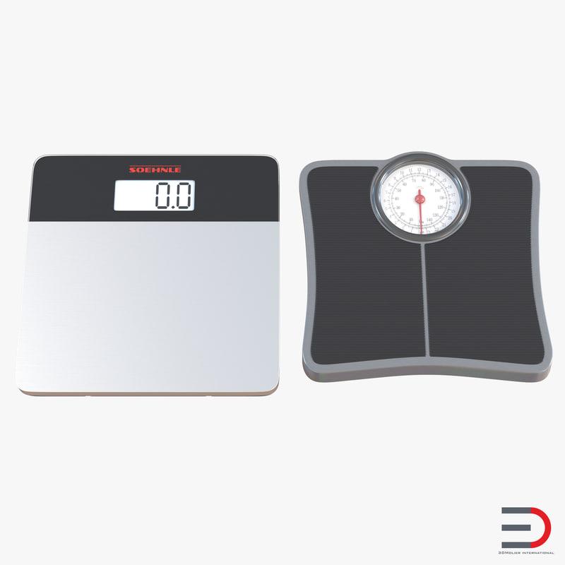 3d bathroom scale