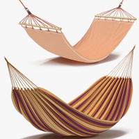 3d hammocks modeled model