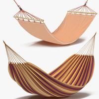 Hammocks 3D Models Collection