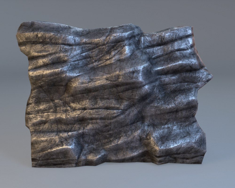 3ds max ready rock