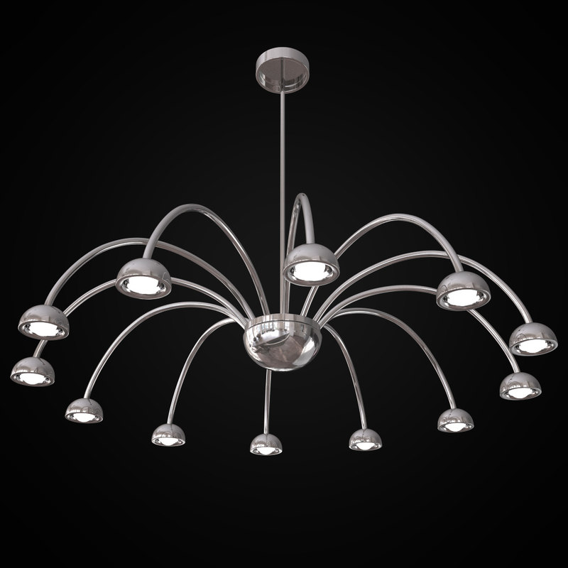 max chrome chandelier