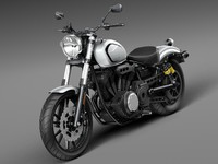 2016 yamaha bolt 3d model