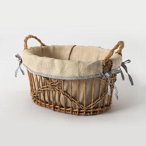 basket handles 3d model