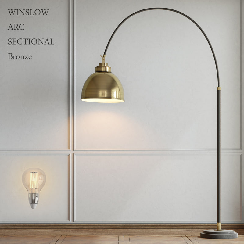 lamp pottery barn 3d 3ds