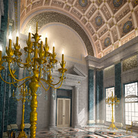3d renaissance hall