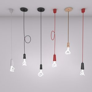 compact light bulb fluorescent 3d model