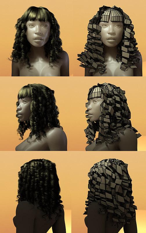 3d hair styles