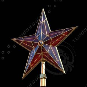 red star kremlin 3d lwo