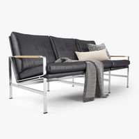 FK 6720 Sofa - Lange Production by Jorgen Kastholm