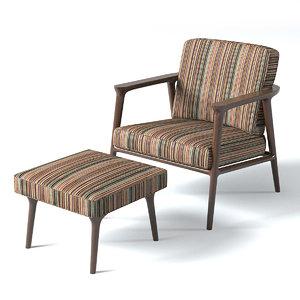 zio lounge chair 3d max