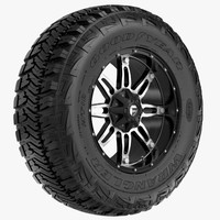 Off Road Wheel GOOD YEAR & FUEL
