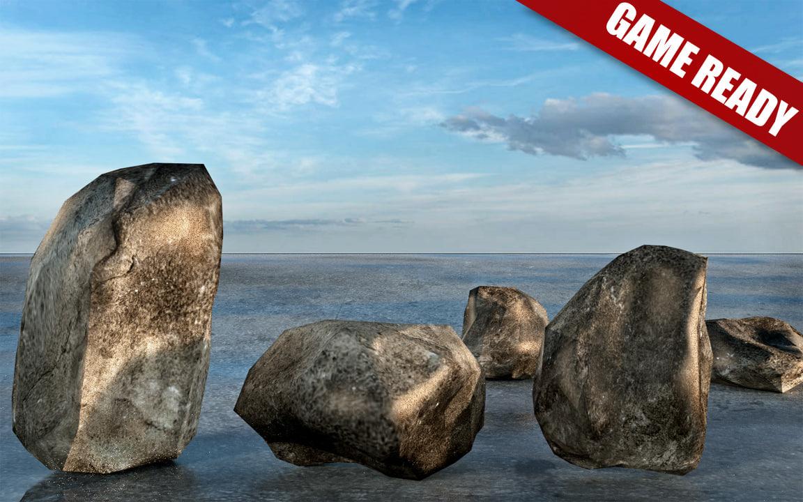 rocks obj free