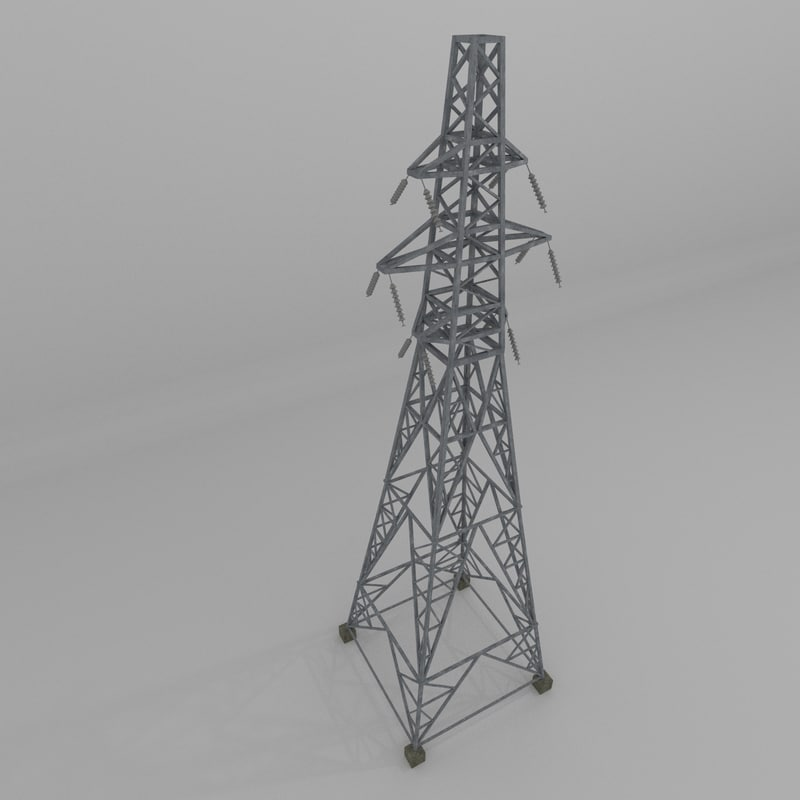 column power lines 3ds