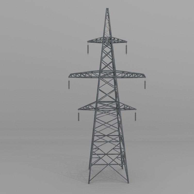column power lines 3ds