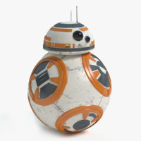 3d bb-8 star wars model
