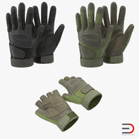 3ds military gloves