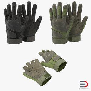 3ds military gloves