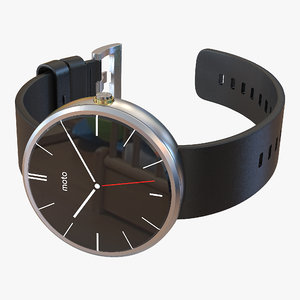smartwatch moto 360 3 3d max