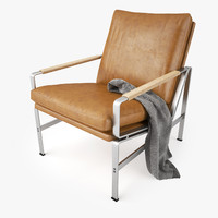 3d model fk 6720 easy chair
