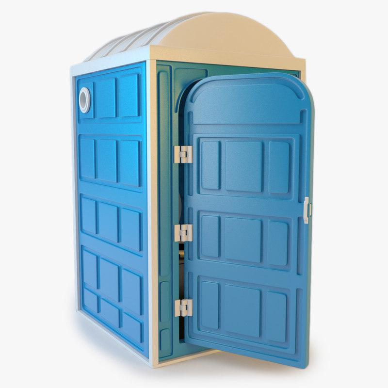 portable porta port 3d c4d