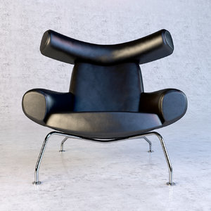 3ds max ox chair design